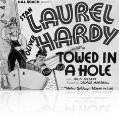 Laurel and Hardy in Towed In A Hole (1932) Hal Roach Film https://www.youtube.com/user/PopcornCinemaShow.
