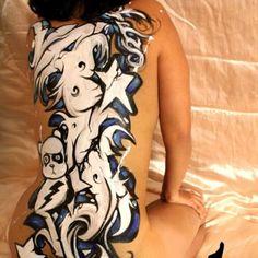 #graffiti #graffitiart #streetart #bodypainting #bodymods #body #womenbody #graffitistickers #graffitislaps #graffslaps #graffititag #bombing #paint #graffitipaint #grafftitties #grafflife #facepaint #makeupideas #lovemakeup #tattoo #bodypainter...