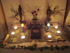 "Altars:  ""Pagan Altar 01,"" by Druidstone, at deviantART."
