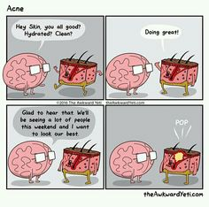 The Awkward Yeti comics Funny Cartoons, Funny Comics, Funny Jokes, Hilarious, Really Funny, Funny Cute, Heart And Brain Comic, The Awkward Yeti, Akward Yeti