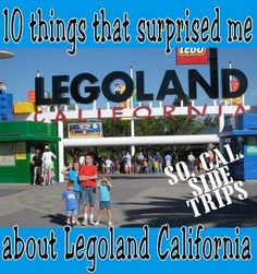 What else do you plan on your California to do after visiting Disneyland? See if visiting Legoland California is right for you!