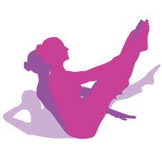 Pilates, Fitness E Gym Workouts Pilates Training, Pilates Workout, Gym Workouts, Exercise, Fitness Pilates, Pilates Logo, Dance Movement, Silhouette Art, How To Make Tea