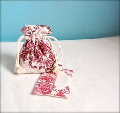 Drawstring bag and tissue case set  gift bag favour by Kirstyflo, €25.00