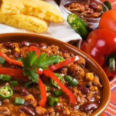 Slow Cooker Fiesta Chili