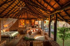 Our pick of the best safari lodges where you can catch a glimpse of Africa's incredible wildlife.