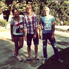 Rydel, Riker and Ross Lynch<3
