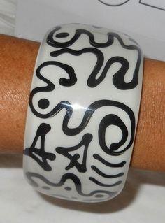 Sobral Retired Tribalism Nomade PB50 Statement Bangle Bracelet From Brazil