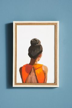 Slide View: 2: Top Knot 35 Wall Art