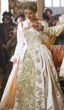 Jane Seymour's Wedding dress from The Tudors season 3