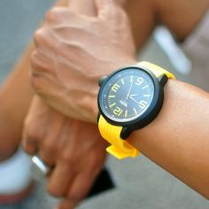 Yellow Mossimo Watch
