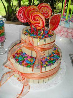 Nuevas Tendencias en Decoración de Tortas: Tortas Decoradas con Golosinas,