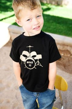 Cute drum shirt! $18