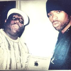 """Biggie & Method Man. I was listening to """"The What"""" this morning."""