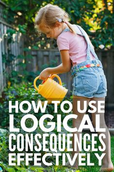 Enforcing logical consequences is a fabulous way for teachers to encourage good classroom behavior and parents to get kids to behave without yelling, and we're sharing 13 logical consequences that actually work! Parenting Classes, Parenting Styles, Parenting Books, Gentle Parenting, Parenting Teens, Parenting Advice, Foster Parenting, Parenting Quotes, Practical Parenting
