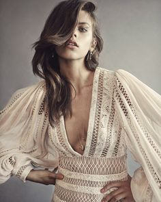 Lace dress, Editorial: From Style Me Romy, the Zimmermann Rhythm Spiral Dress from new season Ready-to-Wear, The Esplanade.