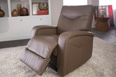 Featuring generously padded track arms and a chaise styling for ultimate comfort and support.