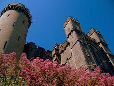 Arundel Castle walls Arundel Castle, William The Conqueror, Castle Wall, The Beautiful Country, Medieval Castle, Stone Work, Castles, 19th Century, Restoration