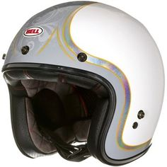 Bell Custom 500 helmet - headcase cue ballAlternative Image1