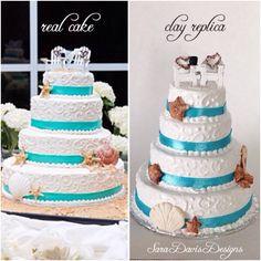 Wedding Cake Replica, Valentines Gift, Wife Gift, Romantic Gifts, Wedding Cake Ornament, Anniversary Gift, 1st Anniversary Gift by SaraDavisDesigns on Etsy https://www.etsy.com/listing/229551691/wedding-cake-replica-valentines-gift
