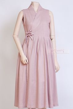 BİLEĞE KADAR ALTİNA BOL PENYE PAÇA[즉시배송] 생활한복 '가온' 철릭원피스 Pink (Long) Indian Maternity Wear, Maternity Dresses, Maternity Fashion, Simple Dresses, Casual Dresses, Angrakha Style, Korea Dress, Minimal Dress, Girl Fashion