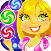 Princess Candy Quest Mania Blast - Bubble Shooter Maker Adventure by Go Free Games - Best Top Fun Apps