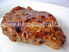 Friptura de porc la cuptor preparare reteta Jacque Pepin, Romanian Food, Cordon Bleu, Meatloaf, Banana Bread, Toast, Food And Drink, Cooking, Breakfast