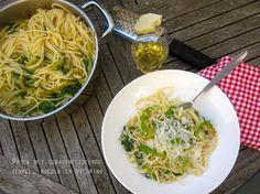 pasta met gekarameliseerde venkel en pecorino