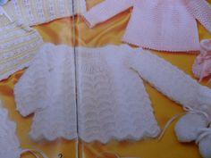 Tricotando carinho: Conjunto para bebê Marcelle