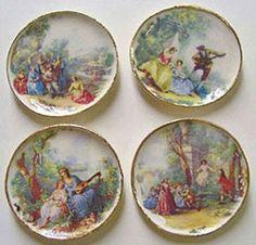 Lyse Romance platter 4 stk. 158 kr.