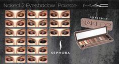MAC cosimetics: Naked 2 Eyeshadow • Sims 4 Downloads