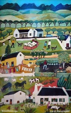 South Africa ~ Carol Mangiagalli ~ Small Holdings