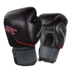 Ufc Mma Performance Muay Thai Gloves - Black 12oz