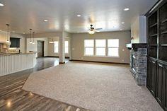 The Great Room  Salisbury Homes Utah