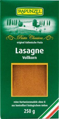 Lasagne Vollkorn von Rapunzel