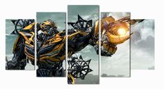 Transformers Bumblebee Movie Poster Canvas