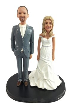 Build your own cake topper! We have hundreds of body styles that can be placed together to form your perfect, personalized wedding cake topper design. Interchangeable figures are what make our product line so versatile. We can add any pets or kids to your topper. Personalized Wedding Cake Toppers, Custom Cake Toppers, Classic Cake, Classic Style, Mix Match, Bride Groom, Wedding Cakes, Classy, Pets