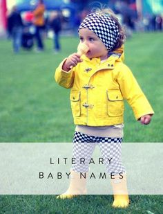 Literary Baby Names That Will Delight Every Bookworm
