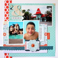 TERESA COLLINS DESIGN TEAM: Guest Designer Nancy Damiano using Family Stories collection and a 1, 2, 3 photo challenge on her layouts!