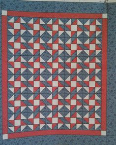 LQ #18 designed by me made for Quilts of Valor 2008