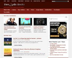 Websites To Download Free Audio Books – Best Of: by Hongkiat
