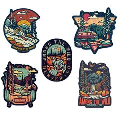 Among The Wild - Stickers Kunst Shop, Eye Illustration, Badge Design, Cool Stickers, Aesthetic Stickers, Ink Art, Graphic Design Inspiration, Sticker Design, Vintage Art