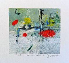 Real trasformations, 2015, tecnica mista, 10 x 9.5 cm