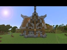 Minecraft Nordic house tutorial - YouTube