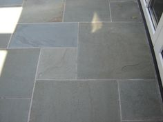 picture of thermal bluestone paver Bluestone Paving, Paver Patterns, Patio Flooring, Dream Pools, Garden Pond, Landscaping Tips, Fenced In Yard, Outdoor Lounge, Garden Styles
