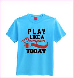 Play like a champion today T-shirt (children's)
