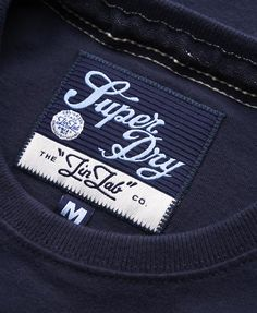 Example of vintage tag design made a bit more modern! Tag Design, Label Design, T Shirt Label, Streetwear Shorts, Fabric Labels, Leather Label, Clothing Labels, Printing Labels, Textiles