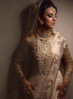 Indian Bridal Fashion, Indian Bridal Wear, Oriental Fashion, Oriental Style, Christian Bride, Indian Outfits, Indian Clothes, Desi Wear, Asian Bride