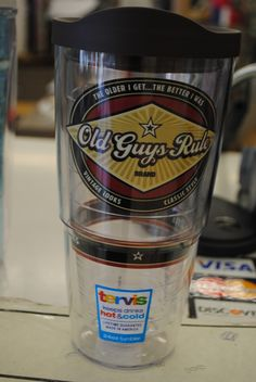 Your Dad is going to love this Tervis cup.