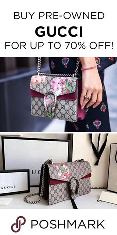 eeb89c55209 Find authentic Gucci bags up to 70% off on Poshmark! Download the app today