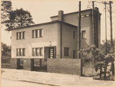 Einfamilienhaus, Falkenplatz 7 in Konradshöhe, Eingang, Fotografie, unbekannter Fotograf , Halbach, Felix,  Berlin, Ende der 1920er Jahre